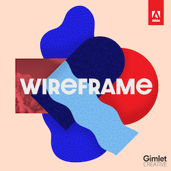 Wireframe Podcast Cover Art